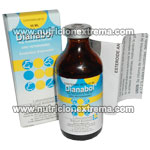 Dianabol Inyectable 50 ml x 25 mg.