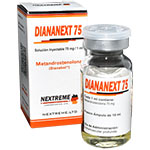 Diananext 75 - Dianabol Inyectable 75 mg x 10 ml. NEXTREME LTD